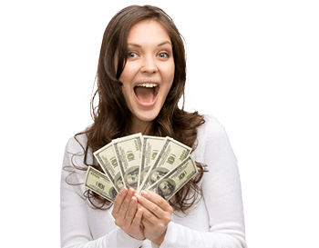 happy-woman-holding-money